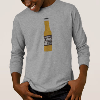 Thinking about Beer bottle Zjz0m T-Shirt