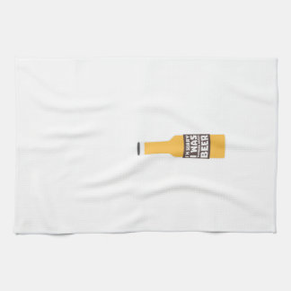 Thinking about Beer bottle Zjz0m Tea Towel