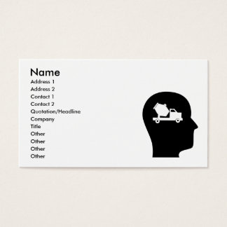 Thinking About Concrete Business Card