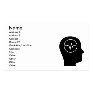 Thinking About EEG Pack Of Standard Business Cards