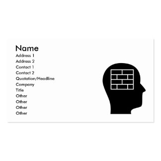 Thinking About Laying Bricks Business Cards