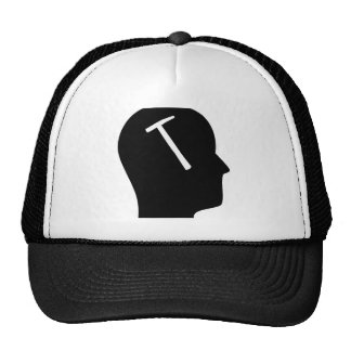 Thinking About Roofs Trucker Hat
