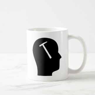 Thinking About Roofs Coffee Mug