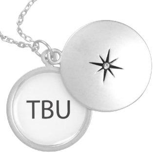 Thinking 'Bout You.ai Round Locket Necklace