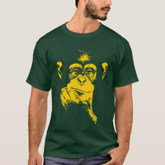 thinking chimpanzee T-Shirt