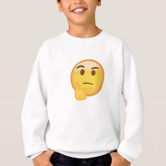 Thinking Face Emoji Sweatshirt