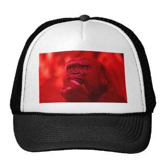 Thinking Gorilla Mesh Hats