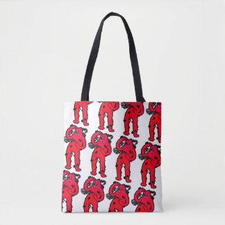 Thinking Guy Tote