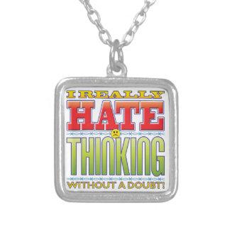 Thinking Hate Face Custom Jewelry