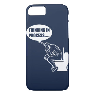 Thinking in process iPhone 8/7 case
