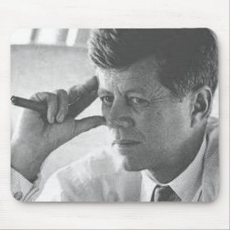 Thinking Kennedy Mouse Pad