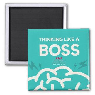 Thinking Like A Boss Magnet