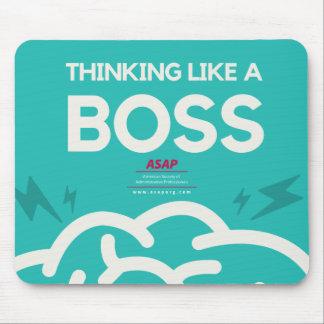 Thinking Like A Boss Mouse Pad