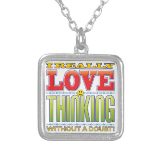 Thinking Love Face Pendant
