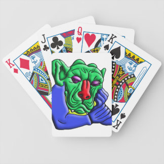 Thinking Monster Bicycle Playing Cards