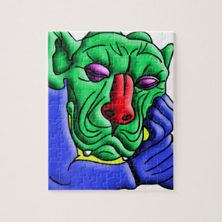 Thinking Monster Jigsaw Puzzle