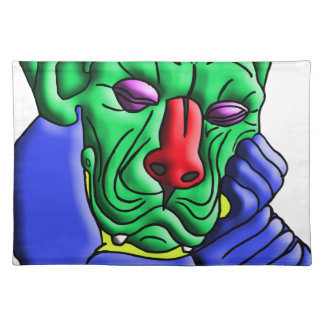 Thinking Monster Placemat