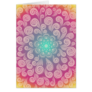 Thinking of You and Sending Prayers, Too - Swirls Card