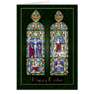 Thinking of you at Easter - The Resurrection In St Greeting Card
