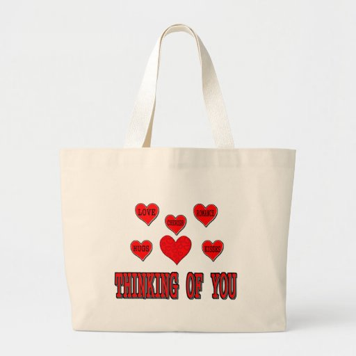 Thinking Of You Canvas Bags
