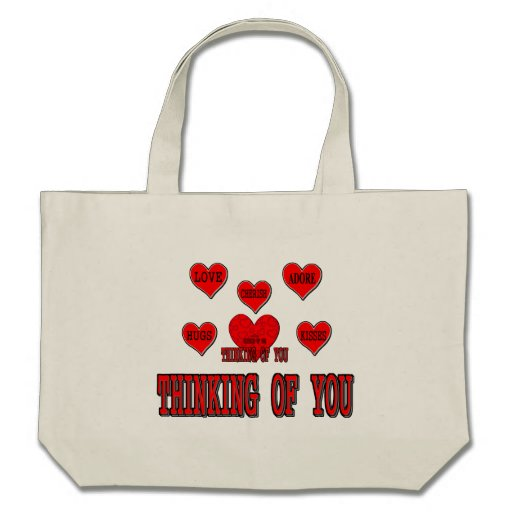 Thinking of You Tote Bags