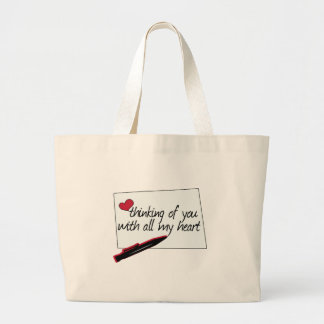 Thinking Of You Jumbo Tote Bag