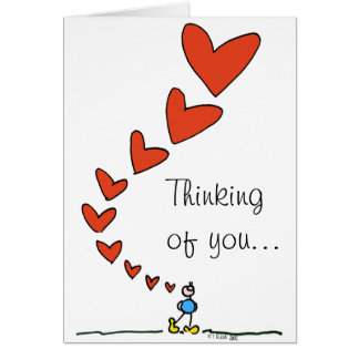 Thinking of you... BIMBO card