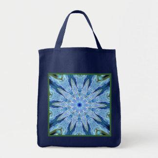 Thinking of You Blue Kaleidoscope Navy Reusable Bag
