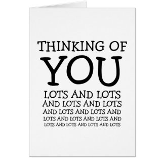 Thinking of you, cancer or get well customizable card
