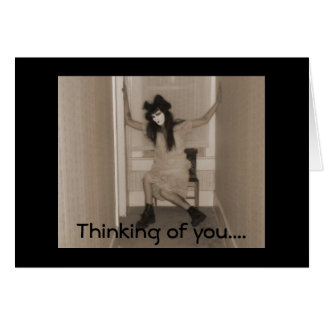 Thinking of you..... card