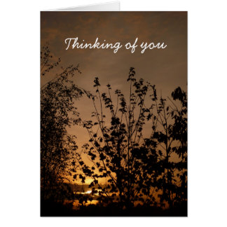 Thinking of you | card