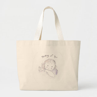 Thinking of You (close up) Canvas Bag