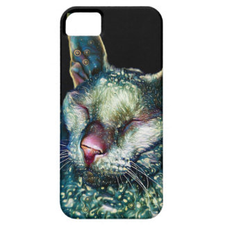Thinking of You Cornish Rex Cat Lover's Phone Case