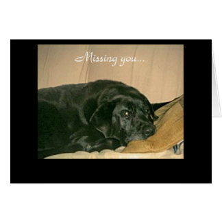 Thinking of you - Customized Card