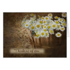 Thinking of you daisy basket card