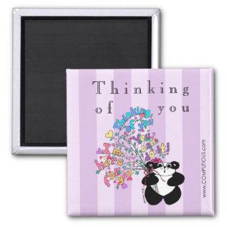 Thinking of you - Encouragement Fridge Magnet