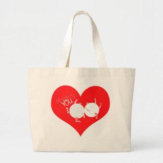 Thinking of you for Christmas Jumbo Tote Bag