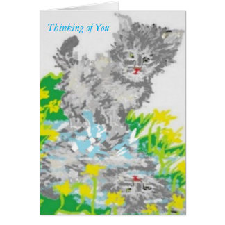 Thinking of You /Greeting Card