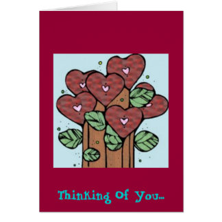 Thinking Of You.... Greeting Card