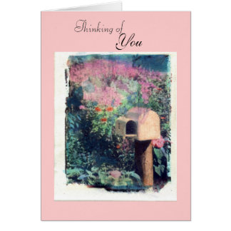 Thinking of, You Greeting Card