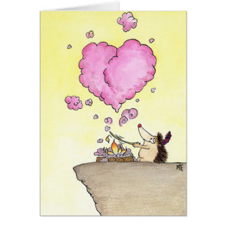THINKING OF YOU greeting card by Nicole Janes
