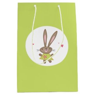 Thinking Of You>HAPPY THOUGHTS BUNNY GIFT BAG