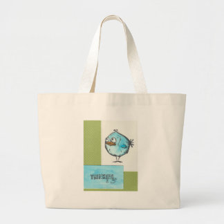 Thinking of you large tote bag
