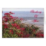 Thinking Of You Malibu Greeting Card