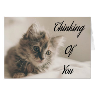 Thinking Of You, Missing You, Love Greeting Greeting Card