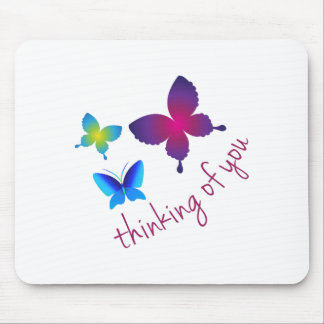 Thinking Of You Mouse Pads