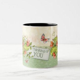 Thinking of you Mug - Florals