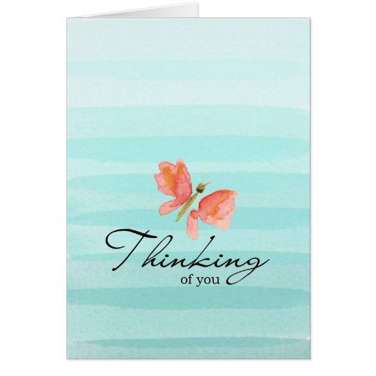 Thinking of You Note Card