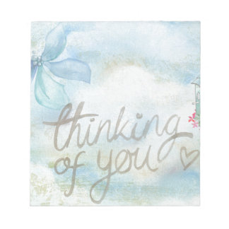 Thinking of you notepad
