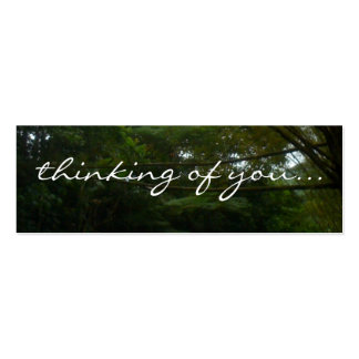 Thinking of You Pack Of Skinny Business Cards